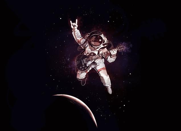 Ава космонавт